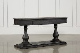 Caira Black Round Dining Table | Living Spaces