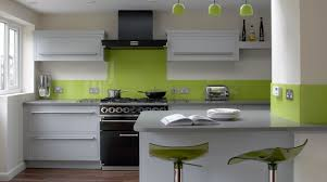Lime Green Kitchen Walls Good Lime Green Wall Paint Color Of Contemporary Kitchen Design