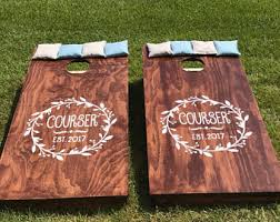 Wooden Corn Hole Game Corn hole games Etsy 81
