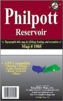 Philpott Lake Depth Chart Virginia Fishing Maps From Omnimap The Worlds Leading