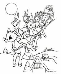 Santa Sleigh Coloring Page Best Of Santa Claus Coloring Pages 7 S