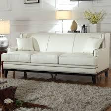 mobilis modern soft bonded leather sofa