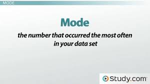 What Is The Median Number For 4 8 10 5 9 Study Com