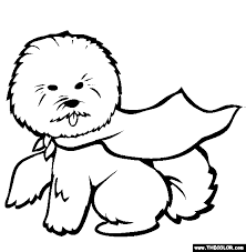 Small Picture Dogs Online Coloring Pages Page 1