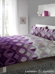 Amazing Illusion Damson Purple Printed Duvet Cover Bedding Uk For ... & Amazing Illusion Damson Purple Printed Duvet Cover Bedding Uk For Purple  Duvet Covers ... Adamdwight.com