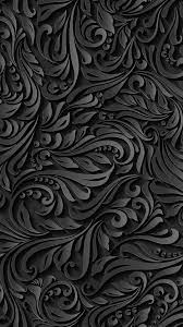 Black Pattern iPhone Wallpaper - Best ...
