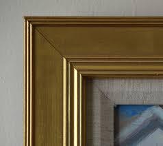 gold frame thick inside ribbing