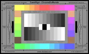 Video Camera Test Chart Understanding Video Test Charts B H Explora