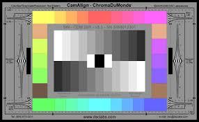 Understanding Video Test Charts B H Explora