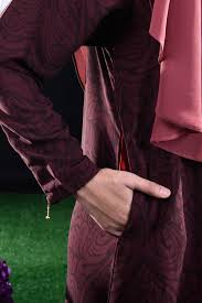 Abaya Ava - Berry Red - MuslimahClothing.Com