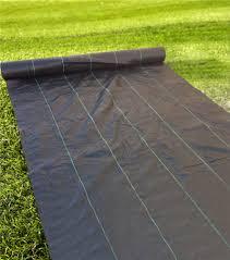6ft Width, 3.2oz Heavy Duty Weed Barrier Fabric,La.