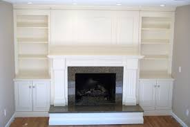 fireplace and shelving unit images pictures fireplace surround with shelving and cabinets