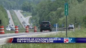 Cited Construction June I-64 Drivers Area In Of Update Hundreds
