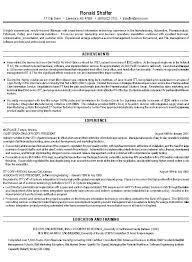 Sample Management Resume