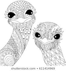Animal Mandala Coloring Pages Images Stock Photos Vectors