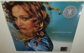 Madonna Ray Of Light Vinyl Clear Madonna Ray Of Light Rsd Bf 2018 Eu 180gm Clear Vinyl 2 Lp New