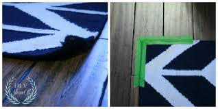 flattening the border of an area rug