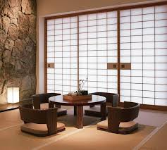 asian modern furniture. Japanese Style Dining Furniture And Sliding Screens Asian Modern C