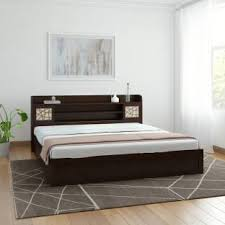 king mattress prices. Spacewood Mayflower Engineered Wood King Bed With Storage Mattress Prices