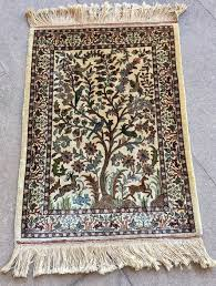 persian rug iran qum ghom silk on silk second half