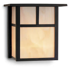 craftsman style lighting. Craftsman Style Outdoor Wall Light In Bronze 8-inches Tall Lighting I