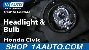 2005 Honda Civic Light Bulb How To Replace Headlight And Bulb 01 05 Honda Civic