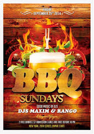 Barbecue Flyers 15 Free Barbecue Flyer Templates In Psd Vector Ai Free