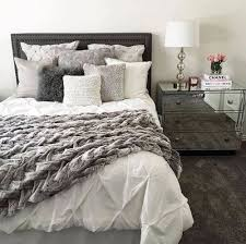Gray Decorative Bed Pillows