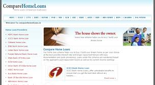 Access Comparehomeloans In Compare Home Loans India Home Loan