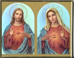 the sacred heart of and the immaculate