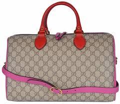 gucci 409527. new gucci women\u0027s 409527 gg supreme guccissima convertible boston bag purse s
