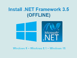 install net framework 3 5 secara offline