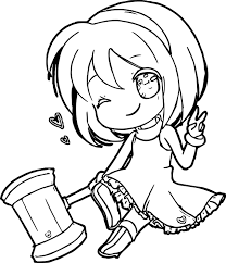Small Picture Amy Rose Chibi Coloring Page Wecoloringpage
