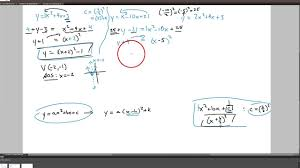 rewrite into vertex form by completing the square