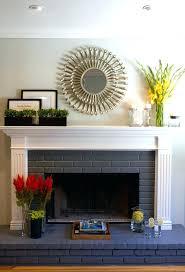 painted fireplace brick grey brick fireplace brick fireplace mantel family room traditional with painted brick grey painted fireplace