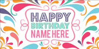Happy Birthday Sign Templates Happy Birthday Banners Signs