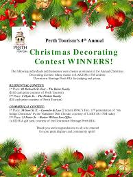 images christmas decorating contest. 2015 Christmas Winners Poster. \u201c Images Decorating Contest Barker Willson