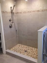revamp your bathroom with a pebble shower floor diy projects for inside idea 19