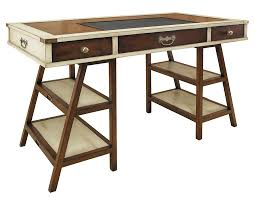 nautical office furniture. Nautical Wooden Navigator\u0027s Office Desk Furniture Ivory