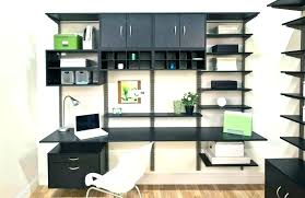 interior wonderful new workspace in her apartment bedroom office within office shelving units ideas office shelving
