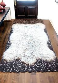 faux fur rug 8x10 faux fur white rug sheepskin area rugs medium size of big grey