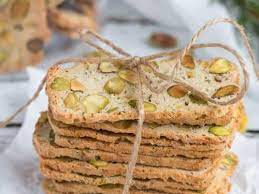 Pistachio, Lemon & Rosemary Biscotti: A Great Last Minute Gift
