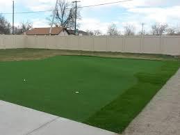 fake grass carpet hemphill texas home putting green backyard garden ideas