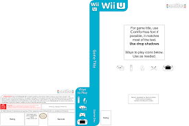 U Template My Custom Wii U And Wii Plus Boxart Templates Use As You Like Put