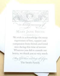 Personalized Sympathy Thank You Cards Memorial Note Cards Memorial Note Cards Sympathy Thank You Note