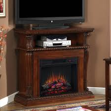 electric fireplaces classic flame corinthcherry fireplace corner unit corinth wall media center vintage cherry double sided