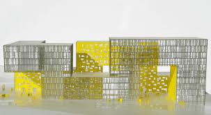 architecture yellow. la cite des affaires by manuelle gautrand architect architecture yellow e