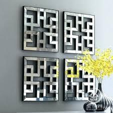metal framed wall art square wall art mirrored wall decor fretwork square mirror framed wall art
