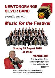 Edinburgh fringe festival box office Channel Share Accor Hotels Newtongrange To Feature At Festival Fringe Scottish Brass Band