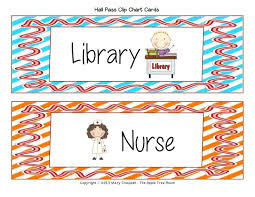 Hallway Pass Template Printable Printable Hall Passes For Teachers